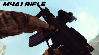 Americas Army: Proving Grounds Beta - All Guns In Slow Motion | FULL HD - MAX SETTINGS |