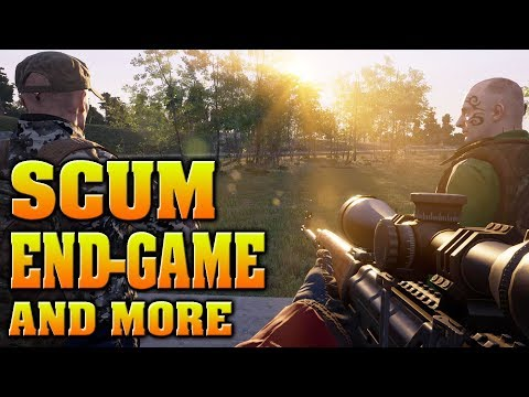 SCUM - END GAME, TRANSLATED INTERVIEW, LORE, GAME MODES, ENEMIES, WHAT IS BCU