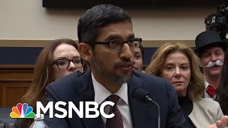 Jeff Jarvis: I Would Rather Google Run The Internet Than Congress | Velshi & Ruhle | MSNBC