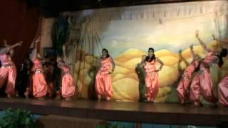 the arabian dance-26th annual day k v thrissur