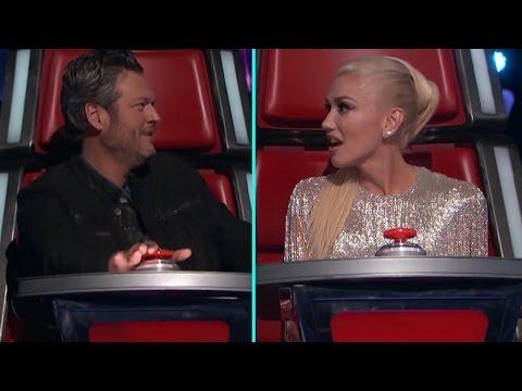 'The Voice': Gwen Stefani & Adam Levine Accuse Blake Shelton of Playing Dirty During Blind Auditi…