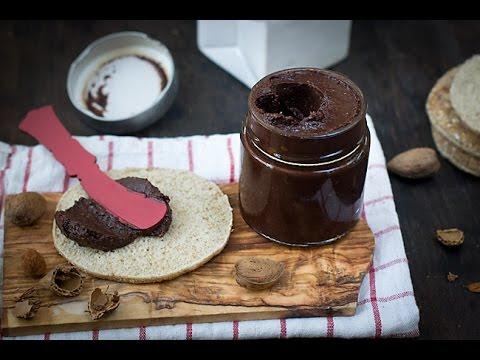 CREMA DE CACAO Y ALMENDRAS CON ACEITE DE OLIVA. NUTELLA CASERA O NOCILLA | Cocinando con CatMan