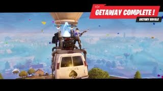 Fortnite fIRST SqUAd WiN (Getaway LTM)#1