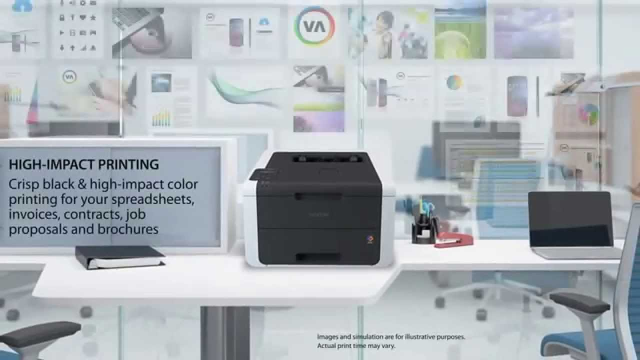 brother hl3170cdw colour laser duplex printer with wi fi at