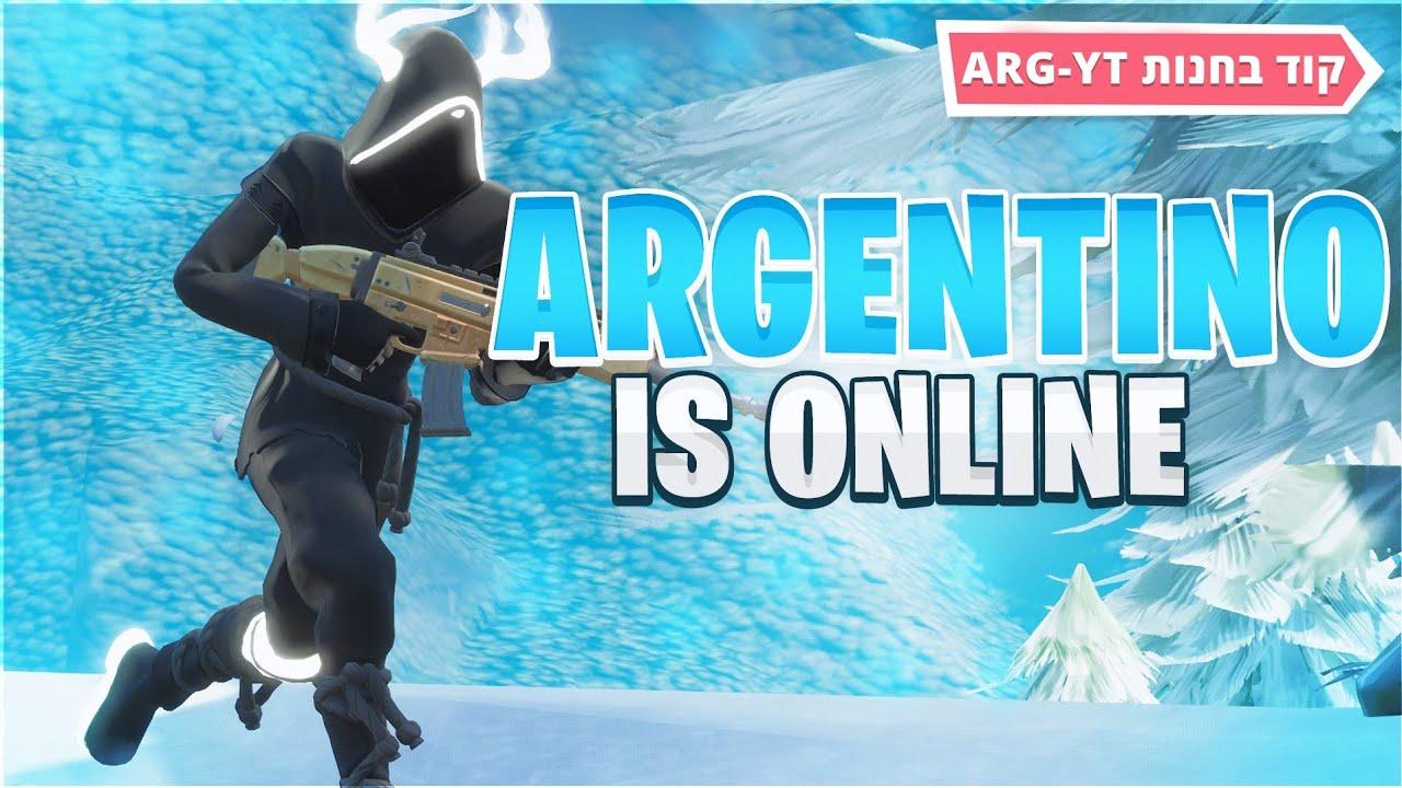 לייב פורטנייט | שרתים פרטיים/תחרות תחפושות| הצטרפו למועדון של ארגנטינו ! | #GoRMN | קוד בחנות ARG-YT