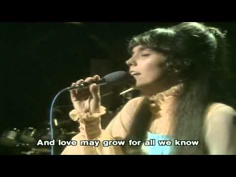 For All We Know - Carpenters (Live with Lyrics)