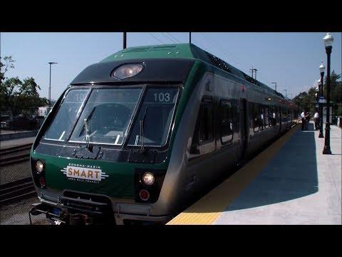 Sonoma-Marin Area Rail Transit (SMART): Sonoma County Airport - San Rafael (Full Journey)