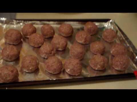 deep fried meatballs