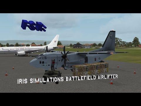 FSX - Iris Simulations Battlefield Airlifter Review
