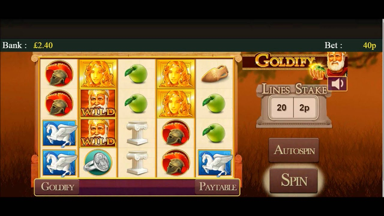 Goldify Mobile Slot By Probability Plc 5x More Winnings Youtube