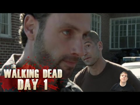 The Walking Dead Season 55 Day 1  18 Miles Out Throwback Review