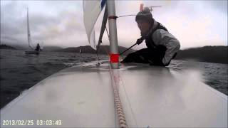 Push The Boat Out-Laser Sailing