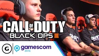 Pros Play Search & Destroy on Hunted at Gamescom 2015 - Call of Duty: Black Ops III (Round 2 of 3)