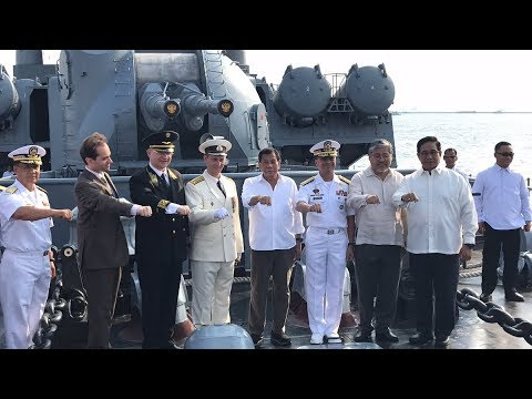 Why Big Russian anti-submarine vessel come to visit Philippines