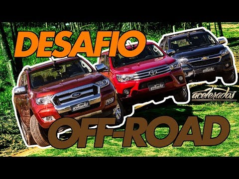 CHEVROLET S10 X FORD RANGER X TOYOTA HILUX - DESAFIO OFF ROAD -  ESPECIAL #75 | ACELERADOS