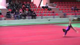 Alexandra Tanase (CS Farul Constanta) - FX - Cupa Nadia Comaneci 2014
