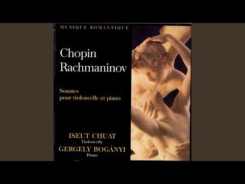 Sonate Pour Violoncelle Et Piano Op. 19 - III. Andante (Serge Rachmaninov)