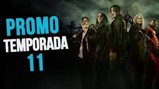 The Walking Dead Temporada 11 Promo - Poster – Sneak Peek Análisis El Final De La Serie