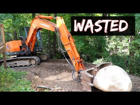 Wasting Time Excavating, On Employees, Landscaping, Routing & Running a business