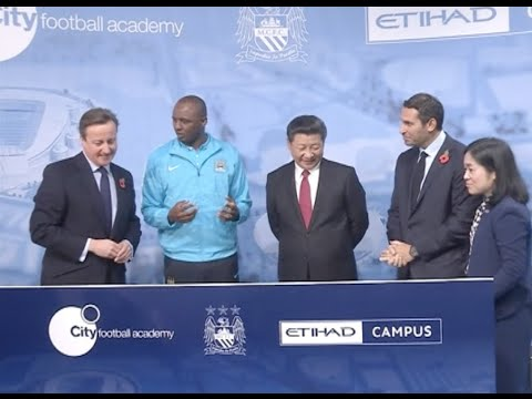 Xi Calls For More Sports Cooperation Between China and Britain