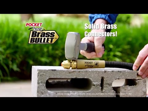 Is Brass Bullet Garden Hose as Strong as Commercials Suggest?