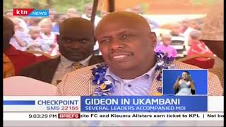 Senator Gideon Moi Hosted in Ukambani by Kalonzo Musyoka