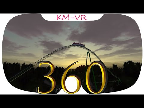 360 VR VIDEOS 371 SBS Virtual Reality Video 2k google cardboard roller coaster