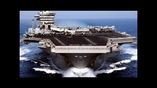 US MILITARY POWER IN ACTION with Aircraft Carrier Exercise