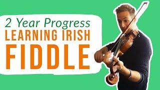 Adult Beginner Violin | Fiddle Progress | 2 Years