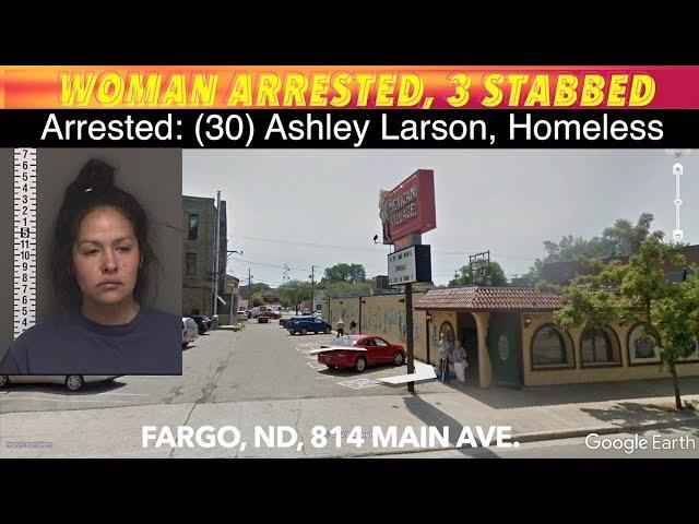 UPDATE: 3 People Stabbed, Woman Arrested In Fargo