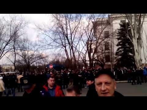 22/02/2014 г. Краматорск Майдан-Антимайдан