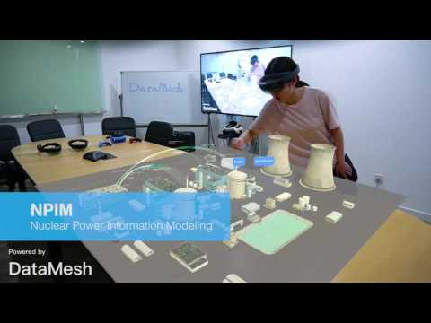 A Collection Of DataMesh Mixed Reality Solutions And Apps, Video Captured By MeshExpert Live!
