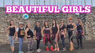 BEAUTIFUL GIRLS Zumba By Dj Rowel Remix (Tekno Remix)