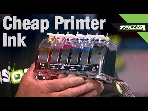 Printer Ink That Isn't A Ripoff! Gigablock Continuous Ink System Review