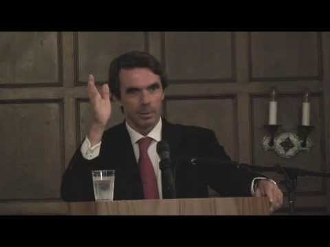 Former Spanish Prime Minister José Maria Aznar on Religion & Democracy in Foreign Policy (Keynote)