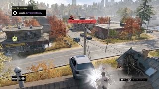 Teaching 4 campers a lesson! (Watch Dogs Online)