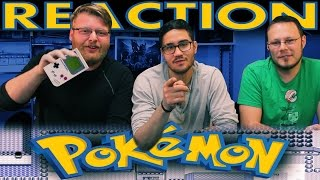 Pokemon Red and Blue Honest Game Trailer REACTION!!