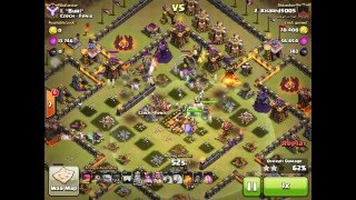 GRAND WARDEN + MAX WITCHES 3 STARS ATTACK | Clash Of Clans | ''New Update'' TH11, Eagle Artillery!!2