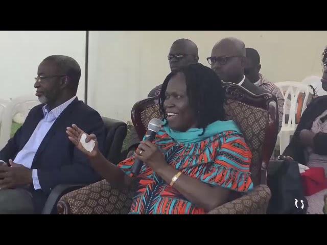 Reconciliation des Ivoiriens - Reception des pasteurs évangéliques de CI  par Simone Gbagbo