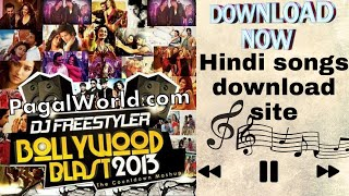 Hindi songs downloaded/pagalworld.com हिन्दि गित download Site?songs & music 🎶