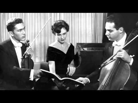 Patricia Parr, Michael Grebanier, Arnold Steinhardt; Brahms Trio in B major op.8