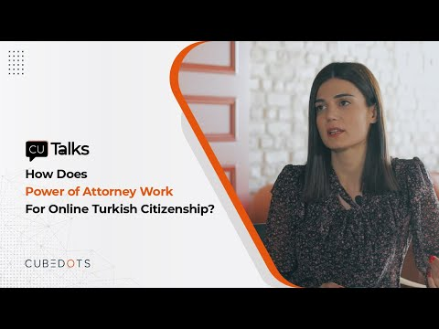 How Does Power of Attorney Work For Online Turkish Citizenship?