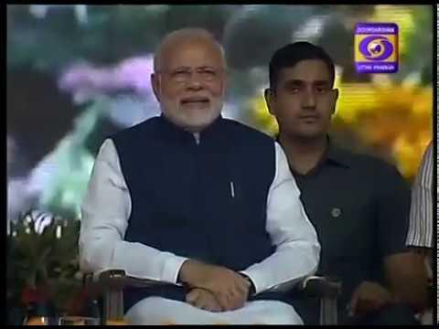 Inauguration of Road At Varanasi by  Prime Minister Shri Narendra Modi