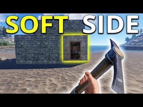 RUST SOFT SIDE PICKAXE RAIDING My Island Neighbour - Rust
