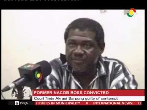 Court finds Akrasi Sarpong guilty of contempt - 21/3/2017