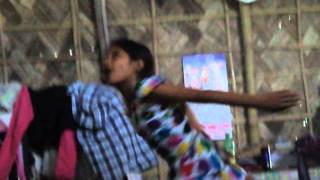 funny BIHU DANCE ON baby doll song by-- KUHILIKA DEKA  AND  RIYA KALITA