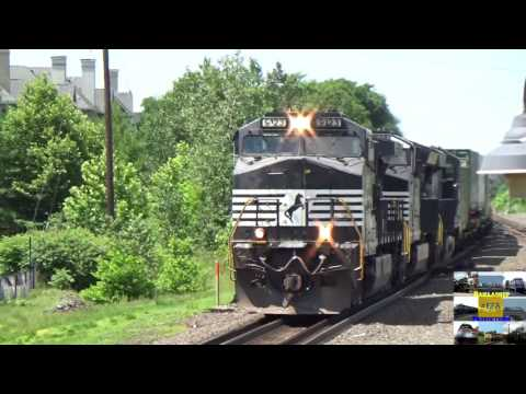 Railfanning on the CSAO 6/28/17 & 7/1/17 Ft: GECXs B40s