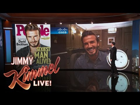 Jimmy Kimmel Reveals People Magazine's Sexiest Man Alive 2015