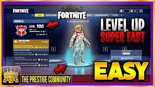 Fortnite How to LEVEL UP Your S3 Battle Pass Faster! (Fortnite Tips)