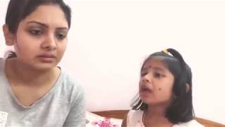 Mummy teaching to baby   cute baby reaction